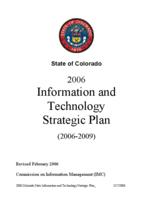 2006 information and technology strategic plan 2006-2009