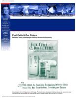 Fuel cells & our F.U.T.U.R.E : fantastic utility technologies utilizing resources efficiently