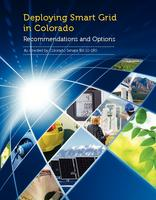 Deploying smart grid in Colorado : recommendations and options