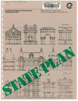 State plan for the state of Colorado : institutional buildings grants program
