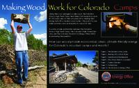Making wood work for Colorado camps