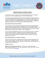 Colorado Department of Human Services, Division of Youth Corrections fact sheet