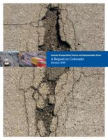 Colorado Transportation Finance and Implementation Panel : a report to Colorado