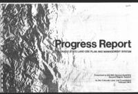 Progress report : Colorado State land use plan and management system. Presented to the 48th General Assembly, second regular session