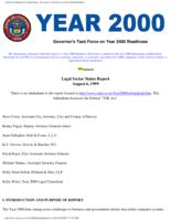 Legal sector status report