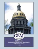 Colorado Government Efficiency and Management performance review