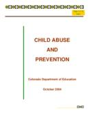 Child abuse and prevention