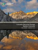 Colorado recycled energy market overview : final report