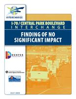 I-70/Central Park Boulevard interchange finding of no significant impact