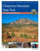Cheyenne Mountain State Park, 2013 park management plan