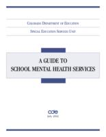A guide to school mental health services