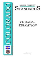 Colorado model content standards, physical education