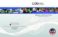 2008 best practices guide : closing the achievement gap