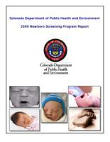 2009 Newborn Screening Program report