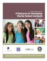 Colorado charter school, a resource for developing charter school contracts
