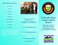 Colorado State Conservation Board : learning from the past, working on the present, to improve the future!