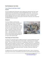Small hydropower case study. Town of Basalt small hydro project