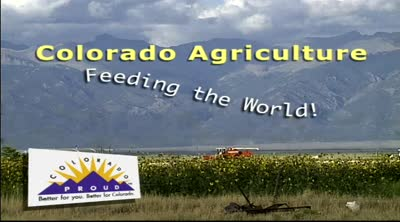 Colorado agriculture : feeding the world