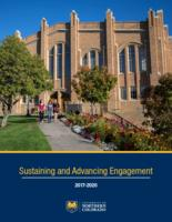 Sustaining and advancing engagement plan 2017-2020