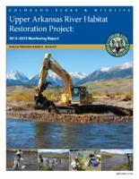 Upper Arkansas River habitat restoration project : 2013-2015 monitoring report