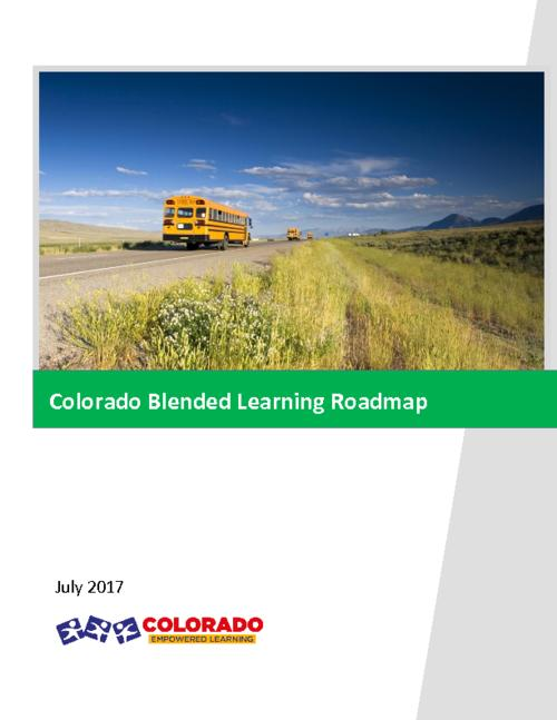 Colorado Blended Learning Roadmap Colorado State Publications - Roadmap colorado