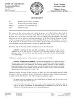 Legislative use of the State seal