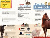 Plan for livestock in advance of an emergency