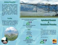 Agricultural chemicals & groundwater protection