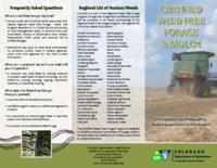 Certified weed free forage & mulch : procedures and frequently asked questions for producers