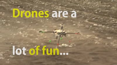 Flying drones in rural areas