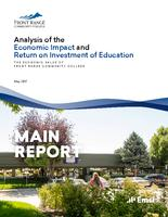 Analysis of the economic impact and return on investment of education. The economic value of Front Range Community College