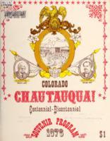 Colorado Chautauqua! : centennial-bicentennial souvenir program, 1976