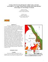 Geology of the San Luis gold deposit, Costilla County, Colorado : an example of low-angle normal fault and rift-related mineralization in the Sangre de Cristo Range of Colorado
