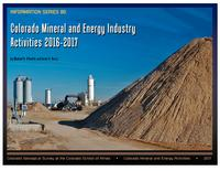 Colorado mineral and energy industry activities 2016-2017