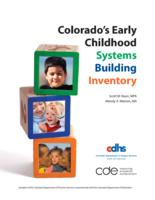Colorado's early childhood systems building inventory