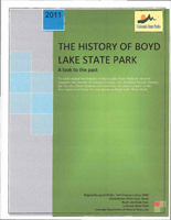 The history of Boyd Lake State Park : a look to the past