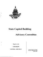 Annual report FY 2001-01 State Capitol Building Advisory Committee : report to the Colorado General Assembly