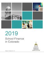 2019 school finance in Colorado