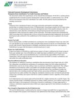 Enterprise zone contribution tax credit overview and policies