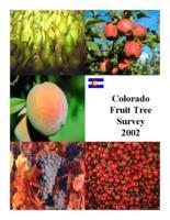 Colorado fruit tree/vineyard survey 2002
