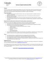 Venture capital authority (VCA)