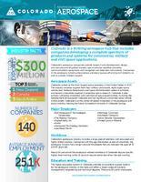 Advanced industry. Aerospace