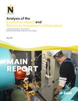 Analysis of the economic impact and return on investment of education. The economic value of Northeastern Junior College