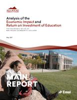 Analysis of the economic impact and return on investment of education. The economic value of Red Rocks Community College