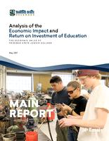 Analysis of the economic impact and return on investment of education. The economic value of Trinidad State Junior College