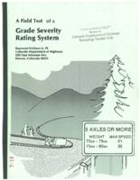 A field test of a grade severity rating system
