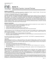 Alternating proprietor licensed premises