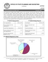 Colorado Department of Public Safety. (Fact Sheet) 2007