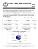 Colorado Department of Regulatory Agencies. (Fact Sheet) 2007