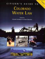 Citizen's guide to Colorado water law
